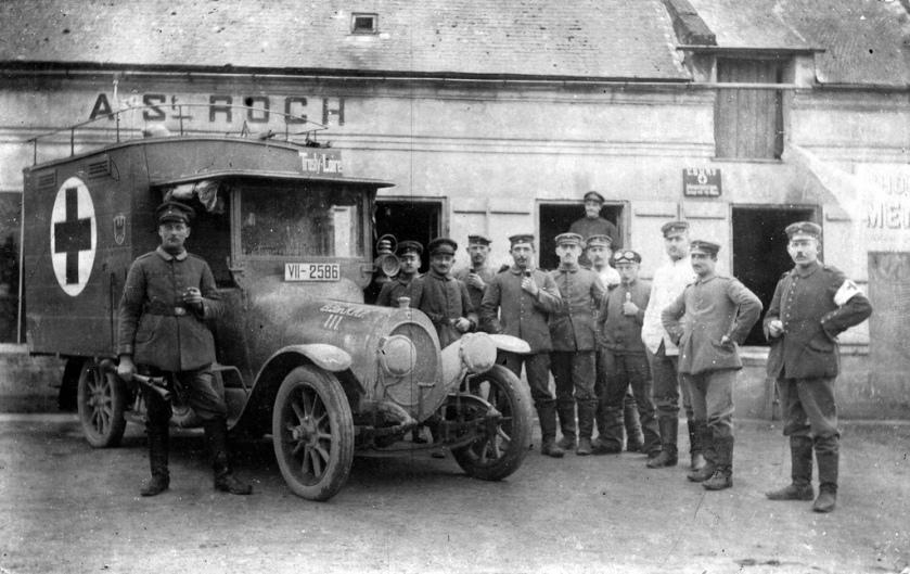 German ambulance drivers